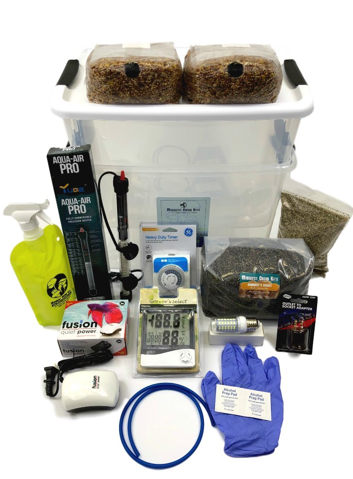 Deluxe Spawn Bag Growing and Casing Kit