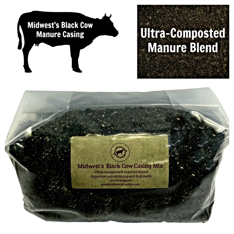 Midwest's Black Cow Manure Casing Mix - 5 lbs