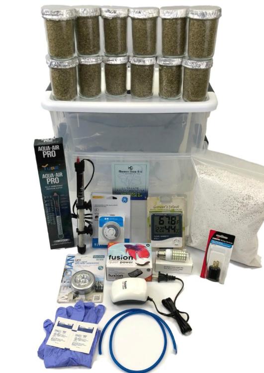 Ultimate Mushroom Growing Amp Incubator Kit