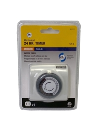 110V Electric 24-Hour Timer  (48 ON/OFF Cycles Per Day) 24 Hour Timer