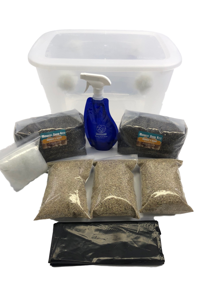 Premium Bulk Spawn Growing & Casing Kit