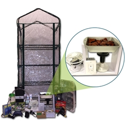 The Mushroom Ecosphere greenhouse,grow mushrooms,grow tent