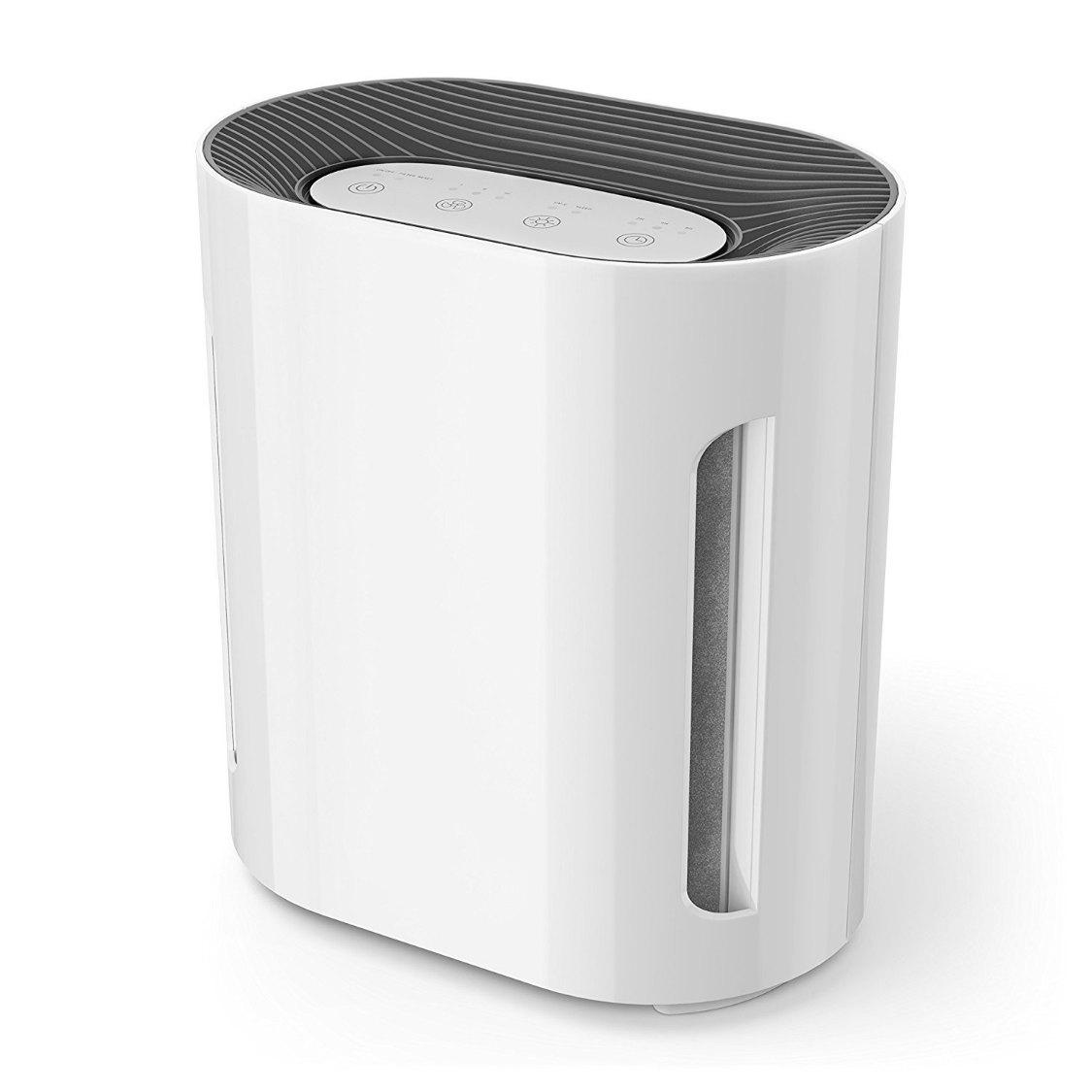 Digital Hepa Room Air Purifier With Uv C Light Cln1