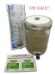Premium Liquid Culture Kit - Easy Spore Germinating & Mushroom Cloning System