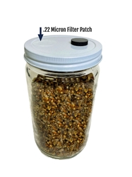 Premium Quick-Colonizing 5-grain Jar (30oz)  spawn bags, 5grain, fast growing jars. Bulk casing substrate