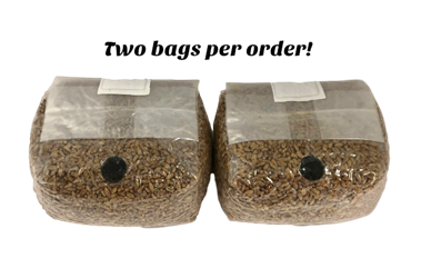 The Original Rye Spawn Bags Rye spawn bags, bulk grow, casing, homestead, grow bags, mushroom grow bags