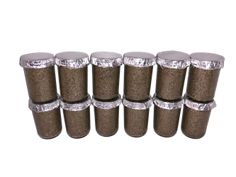Ultimate ½ Pint Substrate Jars  (12-Pack)