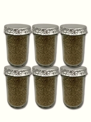 Ultimate ½ Pint Substrate Jars (6-Pack)  mushroom grow jars, PF TEK, BRF JARS, BRF, Grow mushrooms